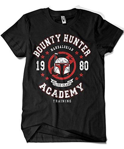 Camisetas La Colmena 2187-SW Mandalorian Bounty Hunter Academy (Olipop)