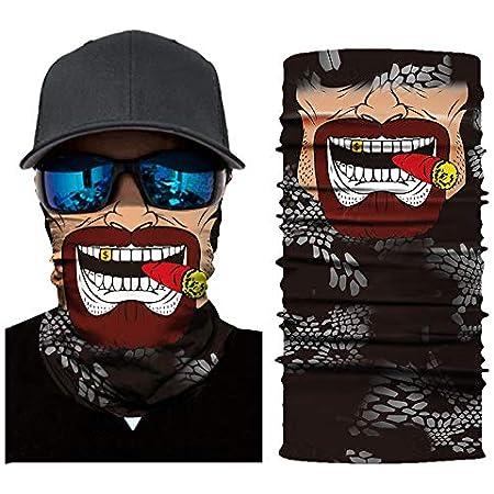 Headwrap Balaclava Tyyyy Dorohedoro Classic Face Bandanas Sports /& Casual Headwear Seaml Neck Polaina