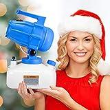 4YANG Electric ULV Fogger Sprayer 5L Disinfecting Fogging Machine Portable Sanitiser 1200W Portable Ultra-Low Volume Atomizer Sprayer Fine Mist Blower Pesticide Nebulizer, Spraying Distance 8-10 m