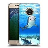 Head Case Designs Requin-Tigre Animaux Célèbres Coque en Gel Doux Compatible avec Motorola Moto G5...