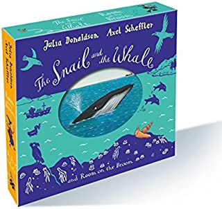The Snail and the Whale and Room on the Broom Board Book Gift Slipcase by Julia Donaldson (2015-10-08)