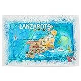 artboxONE Poster 30x20 cm Städte Lanzarote Illustrierte