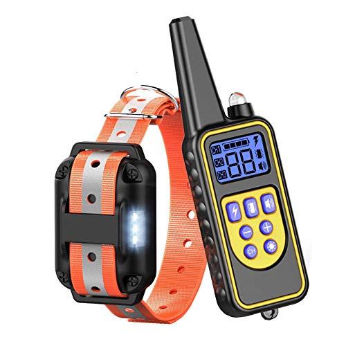 ZFFLYH Tapón De Ladridos, para El Entrenador De Perros Doméstico, La Gama Máxima Es De 880 Yardas, Y La Habilidad Impermeable Es IP67 Impermeable
