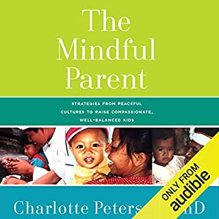 The Mindful Parent audiobook cover art