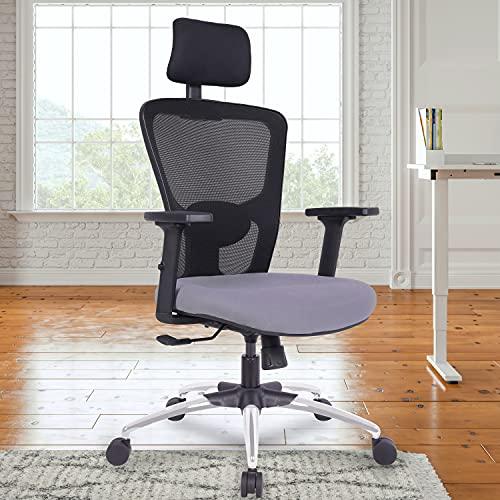 Green Soul® Jupiter High-Back Mesh Office Executive Ergonomic Chair (Black Grey)