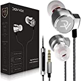 DEIVVOX D0218 Wired Earbuds Microphone in Ear Headphones - Volume Control with Mic - Balanced Sound with Extra Bass - Earphones Noise Isolating - Headset for Cell Phones Samsung Sony LG - Jack 3.5 mm