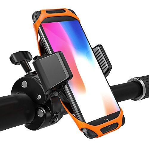 Handyhalterung Fahrrad TaoTronics Handyhalter Fahrrad, Telefonhalter Motorrad mit Ein-Knopf-Freigabe, 360° drehbarem Gelenk & Dreifachschutz