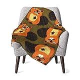 Beaver Baby Blanket All-Season, Super Soft Warm Cozy Blanket for Infant, Newborn or Kid, Receiving Blanket for Crib, Stroller, Travel, Decorative