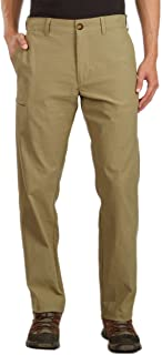 UB Tech Classic Fit Expandable Comfort Waist Chino Pant for Men (34W x 30L, Desert)