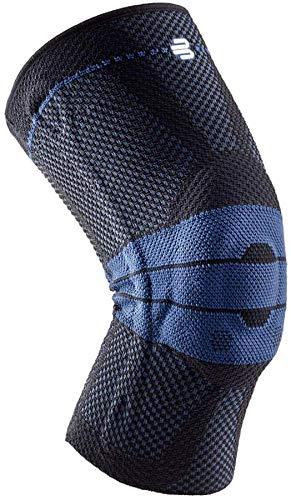 BAUERFEIND Kniebandage GenuTrain Unisex zur Entlastung, Stabilisierung und Aktivierung, Schwarz, Gr.- 4