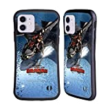 Head Case Designs Officially Licensed How to Train Your Dragon Hiccup & Toothless 2 III The Hidden World Hybrid Case Compatible with Apple iPhone 11