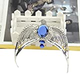 YEZININHAO Crowns New Lost Diadem Tiara Crystal Crown Horcrux Cosplay Prop Metal Necklace Chain Men Metal Necklace Holder Stand Metal Necklaces for Women Engraved Metal Necklaces for Women Fashion