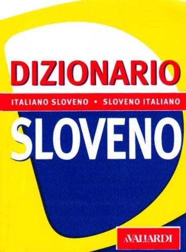 Dizionario sloveno. Italiano-sloveno, sloveno-italiano