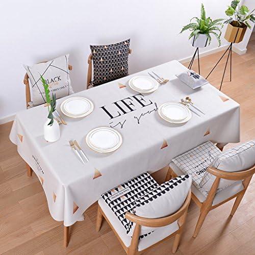 Küchenwäsche Baumwolle Leinen Tischdecken Rechteck Tischdecke Einfache moderne Tischdecke Tee Tischdecken Tischdecke ( Farbe   C , Größe   140230cm )