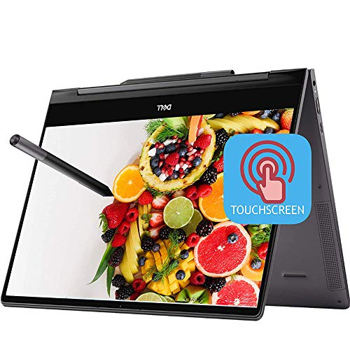 """2020 Latest Dell Inspiron 13 7000 2-in-1 Laoptop 13.3"""" UHD 4K Touchscreen Intel 4-Core i7-10510U 16GB RAM 512GB PCIe SSD Backlit FP Thunderbolt3 Active Pen Win10"""
