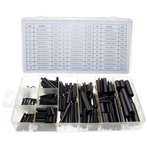 Hohl Federstifte Sicherungsring Sortimentskasten Größen 2,0-10 mm 315-tlg. (im Aufbewahrungsbox/Sortimentsbox)