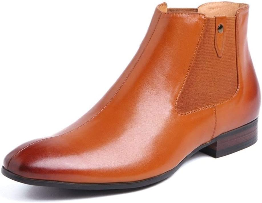Rui Landed Ankle Boot for Men On Chelsea Luxury goods Style Pointed Pull Challenge the lowest price