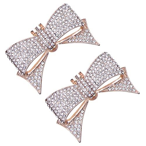 Generic Clips de Zapatos de Diamantes de Imitación Accesorios de Zapatos de...