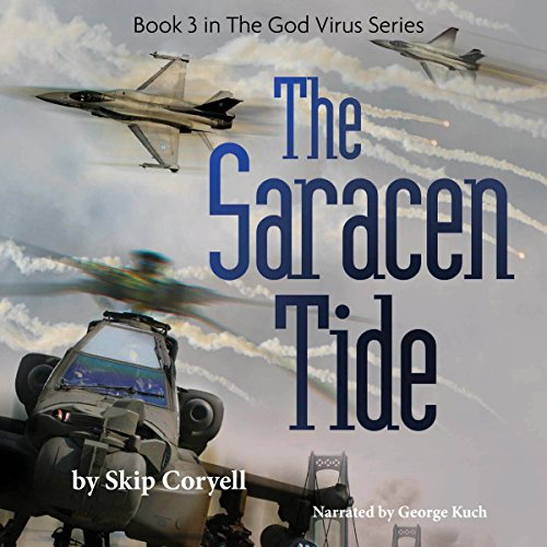 The Saracen Tide audiobook cover art