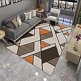 Alfombra De Mosaico Geométrico Simple Sala De Estar Dormitorio Mesa De Centro Cojín Sofá Manta Baño Cocina Puerta Estera Gruesa Antideslizante