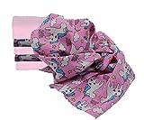 Clevere Kids - 6 paños de muselina para bebé - Diseños de perro, gato, ratón...