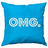 Size: 12 inch X 12 inch (30cm X 30cm)   Material: Soft Micro-Satin   Filling Type: Conjugated Fiber   Backing Type: Overlap   Ideal For Sofas, Bed, Chairs, Cars, etc.   Durable Material   Long Lasting   Color Fast Care Instruction: Machine Wash Norma...