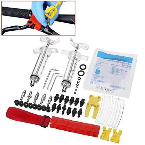 MXBIN Vélo Hydraulique Disque Kit Outil for Shimano TEKTRO MAGURA Zoom Echo Outil De Huilage Outil de réparation de pièces Accessoires