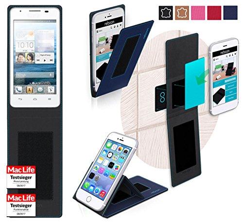 Hülle für Huawei Ascend G525 Tasche Cover Hülle Bumper | Blau | Testsieger
