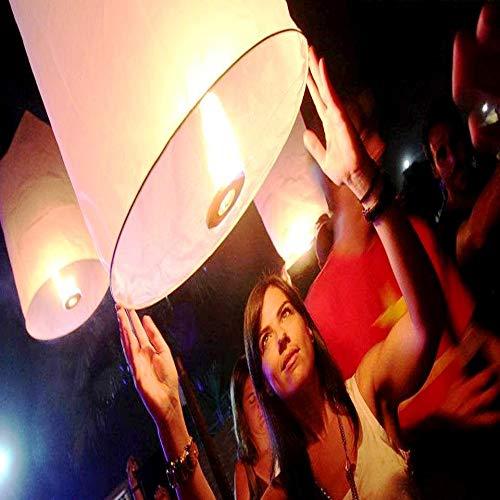 Farolillos voladores cilíndricos Tailandeses pack 10 und