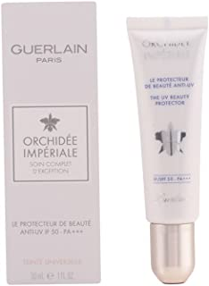Guerlain Orchidee Imperiale The UV Beauty Protector SPF 50 by Guerlain for Unisex - 1 oz Sunscreen, 30 milliliters
