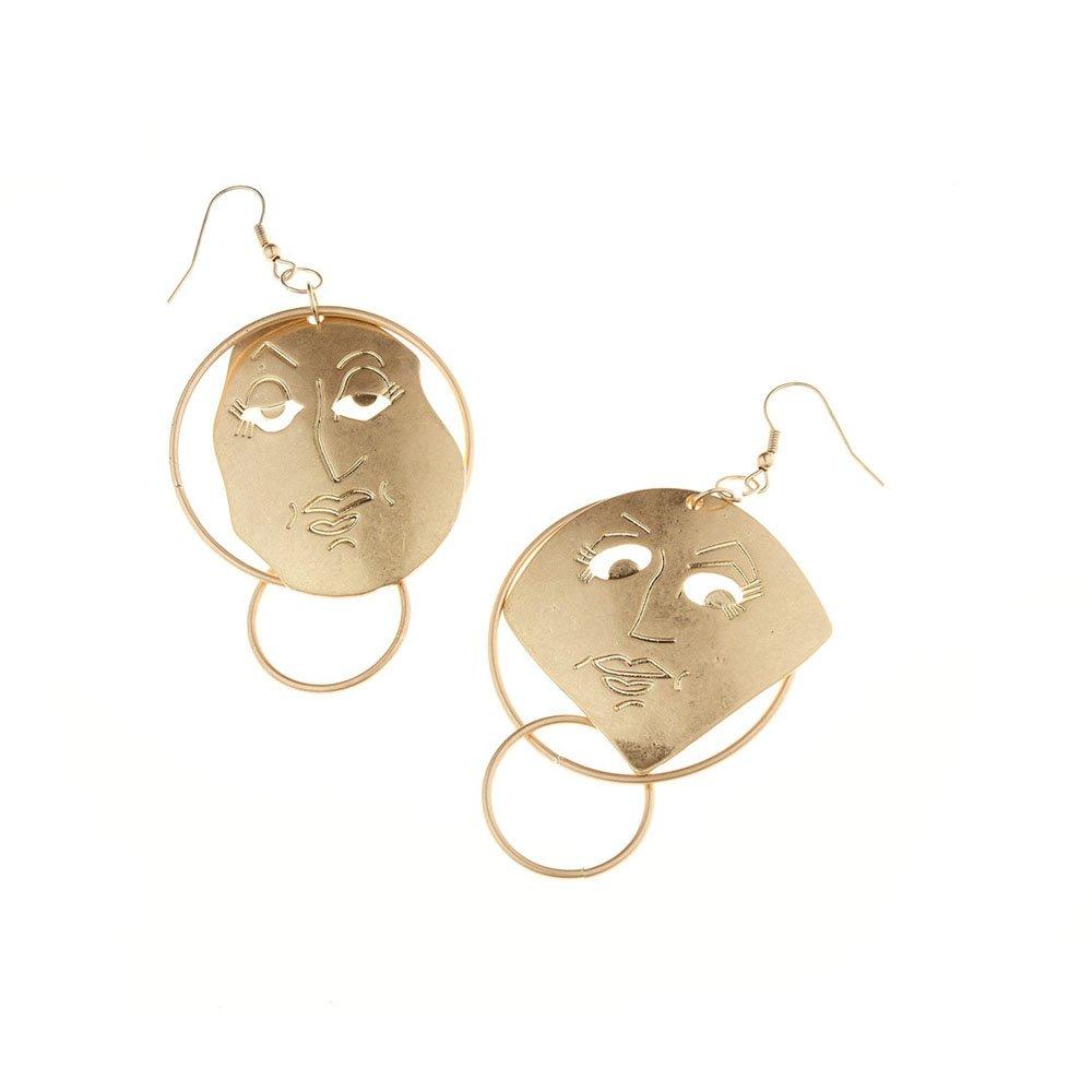 FXmimior Fashion Women Earrings Long Chain Drop Dangle Earrings Jewelry