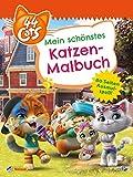 44 Cats: 44 Cats: Mein schönstes Katzen-Malbuch: 80 Seiten Ausmalspaß!