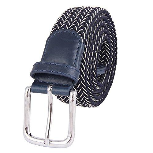 Cinghie Di Elasticità Delle Cinghie Del Elastic Delle Cinghie Casuali Del Pantalone Con L'inarcamento Di Metallo Lucido