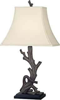 Kenroy Home 21049WDG Drift Table Lamp, 30 Inch Height, 15 Inch Width, 11 Inch Length, Brown