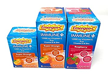 Emergen-C Immune Plus with Vitamin D and Zinc Variety Pack 70 ct.