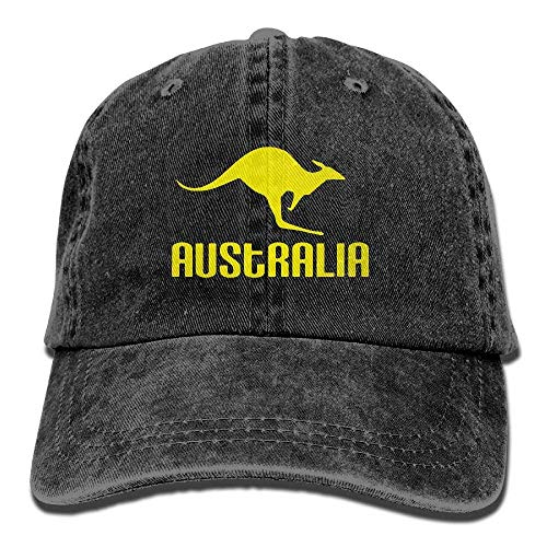 Tonesum Australia Canguro Orgulloso Australiano Ajustable Gorras de béisbol Sombreros de Mezclilla...