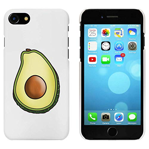 Azeeda Blanco 'Aguacate' Funda / Carcasa para iPhone 7 (MC00183699)