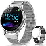 AIMIUVEI Smartwatch, Orologio Fitness Donna Uomo Impermeabile IP67 Activity Tracker Bluetooth...