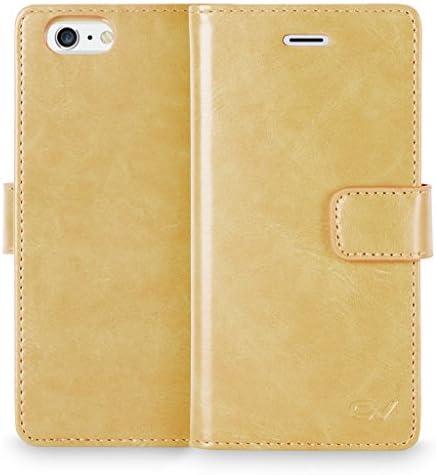 iPhone 6 Plus 6S Plus Case Cellularvilla Slim Fit Premium Pu Leather Flip Wallet Case Card Slot product image