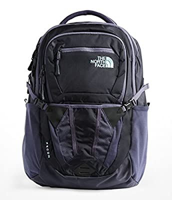 The North Face Women's Recon Backpack, Greystone Blue Ripstop/Mint Blue, One Size