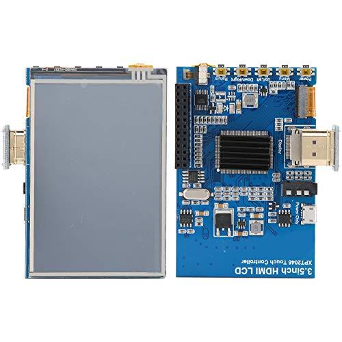 Goshyda Touchscreen, 3,5 Zoll 1080P Einstellbares Mehrsprachiges IPS-LCD-HD-Touchscreen-Display für Raspberry Pi 4B, für Windows 7/10