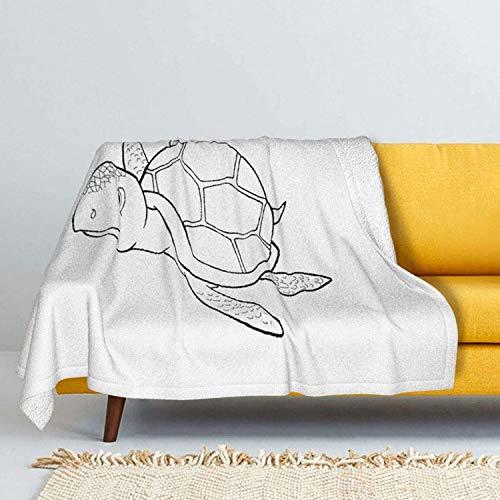Big Spider Lammwolle Überwurfdecken Silber Fuchs Pelzdecke Ultraweiche Plüsch Überwurf Decke für Sofa Bett Herren Damen & Baby