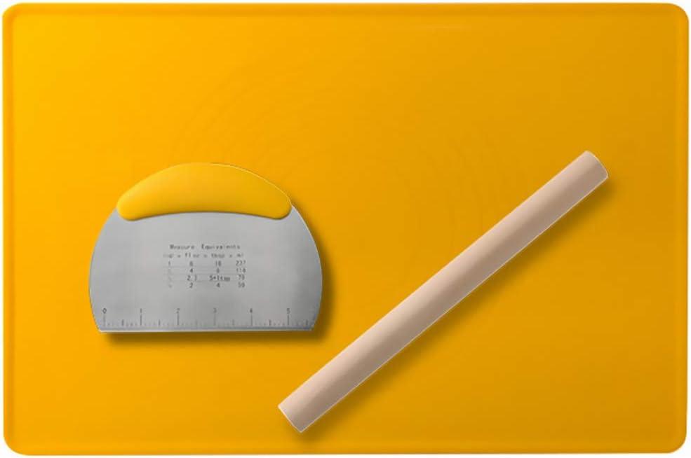Cabilock Durable 1 Attention brand Set of 3Pcs Baking Tools Dough Mat Dou [Alternative dealer]