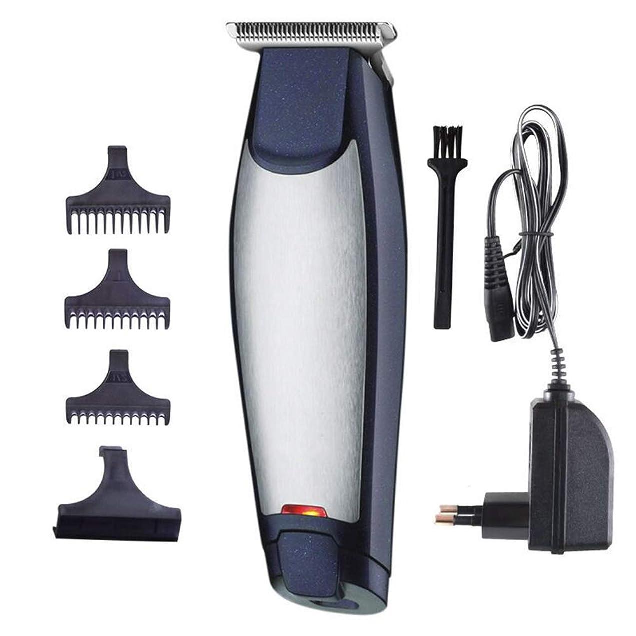 バイアス石電話に出るバリカンヘアひげトリマー充電式電気かみそり男性コードレスヘアカッティングマシン付き櫛理髪師マシン散髪キット
