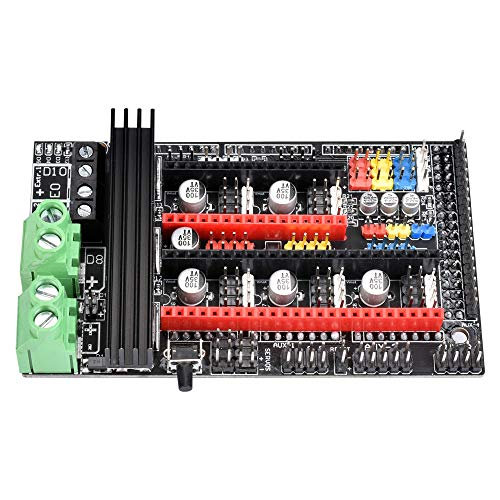 Ramps 1.6 Plus Expansion Control Panel Upgraded Ramps 1.4 3D Motherboard Support A4988 DRV8825 TMC2130 Driver Reprap Mendel for 3D Printer Parts