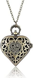 Vintage Real Glass Alice In Wonderland Watches Drink Me For Wishing Bottle Quartz Pocket Watch Necklace Reloj De Bolsillo NEW