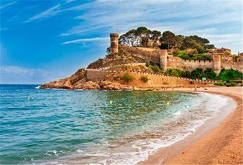 NOBRAND Rompecabezas De 1000 Piezas Sea Landscape Badia Bay In Tossa De...