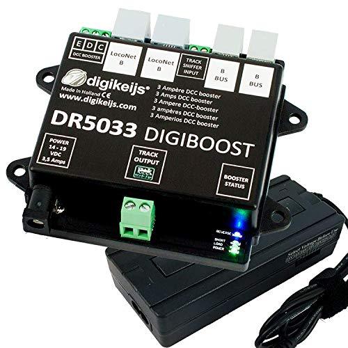 Digikeijs DR5033-ADJ DCC Booster 3 Ampère