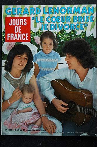 JOURS DE FRANCE 1349 * 08 novembre 1980 * Gerard LENORMAN Cover + 5 p. - Caroll BAKER Baby Doll - Kiraz Faizant