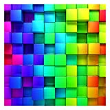 Bilderwelten Fotomural Premium - 3D Cubes - Mural cuadrado papel pintado fotomurales murales pared papel para pared foto 3D mural pared barato decorativo, Dimensión Alto x Ancho: 240cm x 240cm